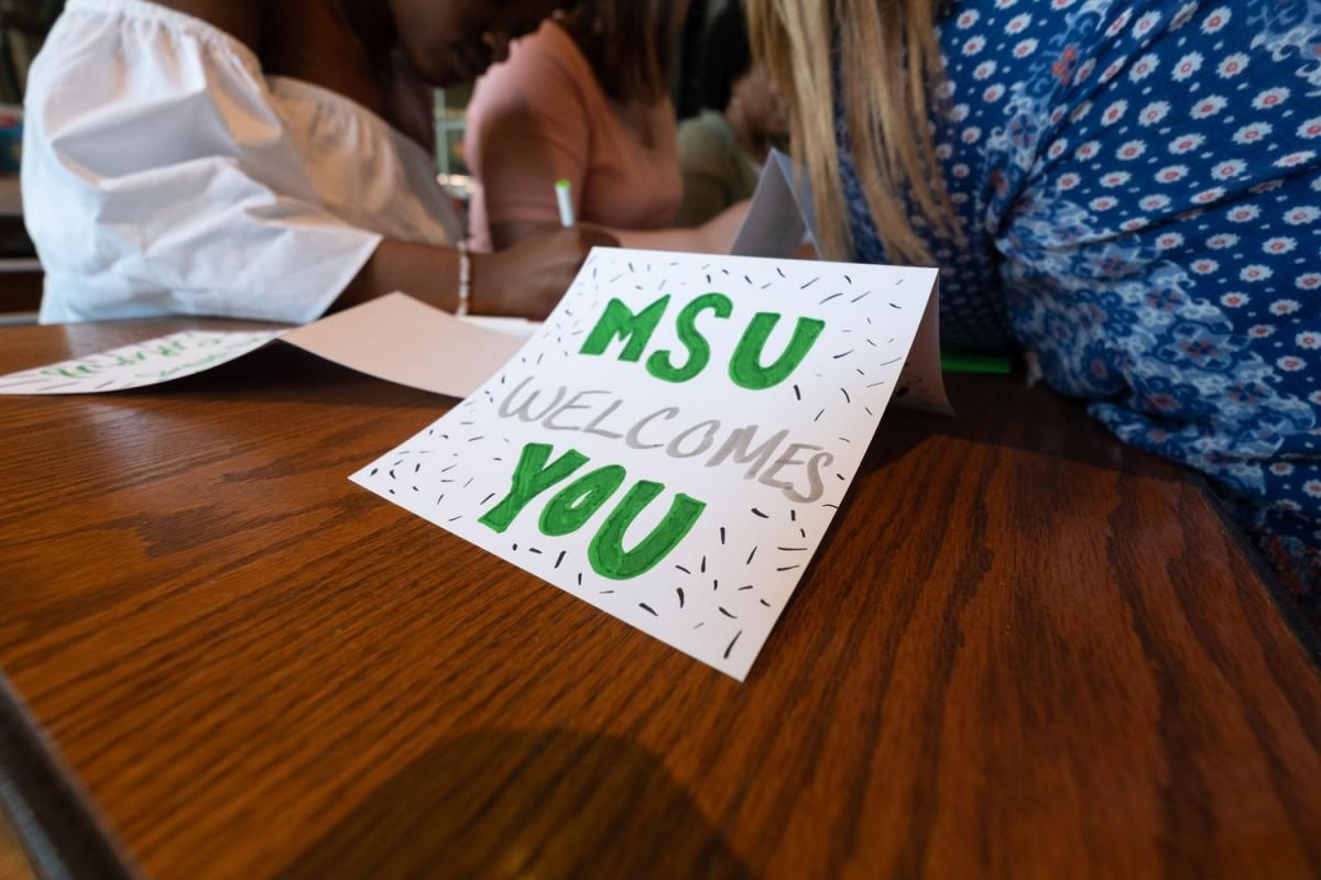 MSU Welcomes You Card